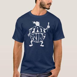 脂肪質のプライド Tシャツ