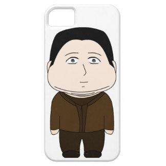 脂肪質のマンガのキャラクタ iPhone SE/5/5s ケース