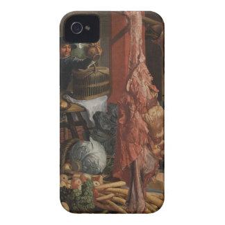 脂肪質の台所。 Pieter Aertsen著アレゴリー Case-Mate iPhone 4 ケース