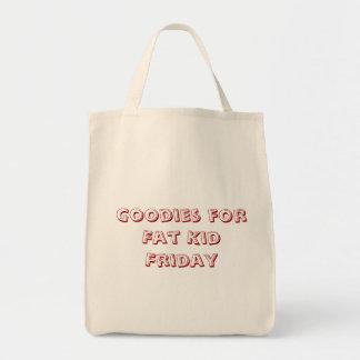 脂肪質の子供金曜日のための糖菓 トートバッグ
