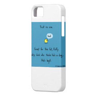 脂肪質の柔らかいアヒル、信頼誰も iPhone SE/5/5s ケース