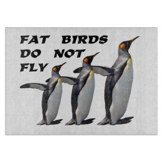 """""""脂肪質の鳥""""はまな板を飛ばしません カッティングボード"""
