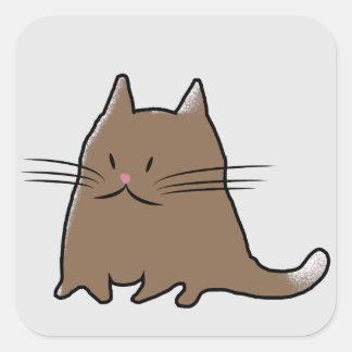 脂肪質猫 スクエアシール