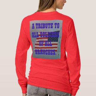 脅される私達の退職金… Tシャツ