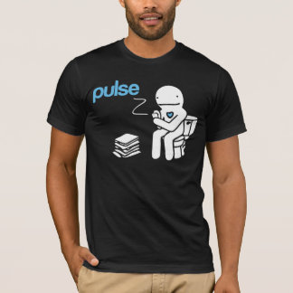 脈拍のTシャツ Tシャツ