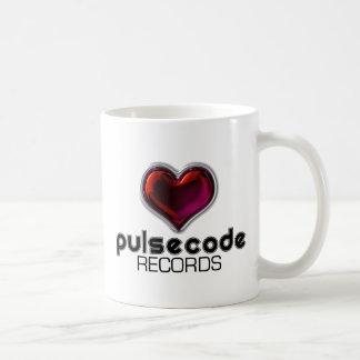 脈拍コード コーヒーマグカップ