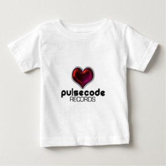 脈拍コード ベビーTシャツ
