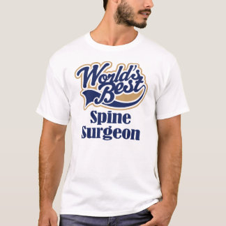 脊柱の外科医のギフト Tシャツ