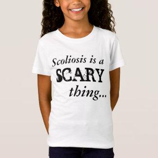 「脊柱側彎症恐い」はTシャツです Tシャツ