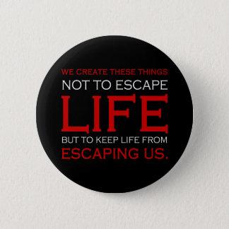 脱出の生命ボタン 缶バッジ