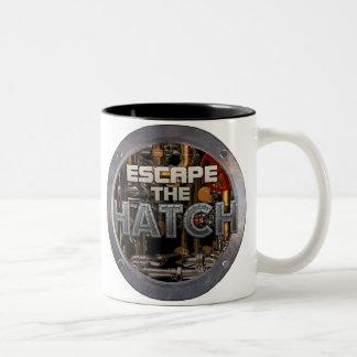 脱出|ハッチ|マグ マグカップ