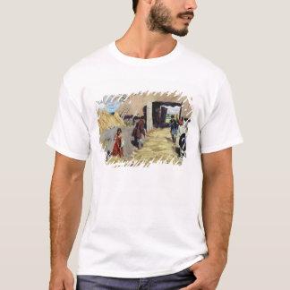 脱穀します-床1916年 Tシャツ