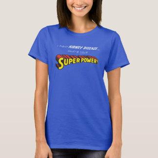 腎臓の超出力 Tシャツ