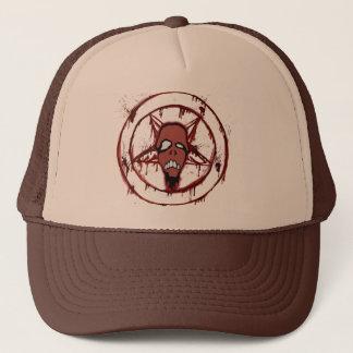 腐った口の五芒星の帽子 キャップ