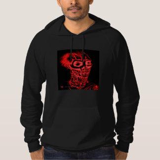 腐敗のゾンビのBlood Red人のフード付きスウェットシャツ パーカ