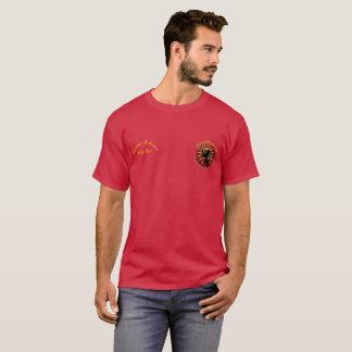 腕のマスター- Ikeの不快な前部Tシャツ Tシャツ