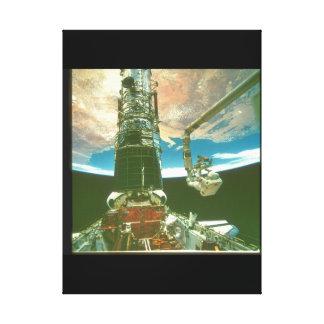 腕の。_Spaceの宇宙飛行士 キャンバスプリント