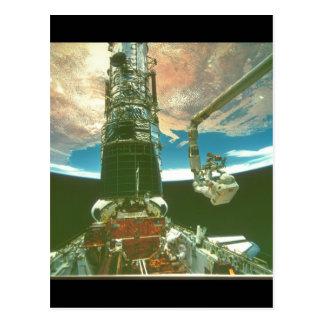 腕の。_Spaceの宇宙飛行士 ポストカード