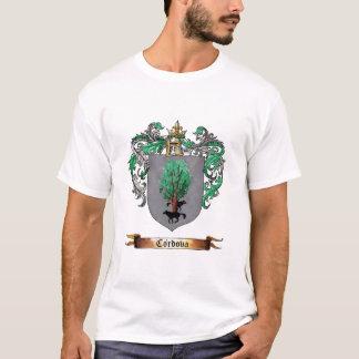 腕のCordovaの盾 Tシャツ