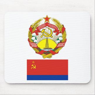 腕はアゼルバイジャンのソビエト社会主義者に印を付け、 マウスパッド