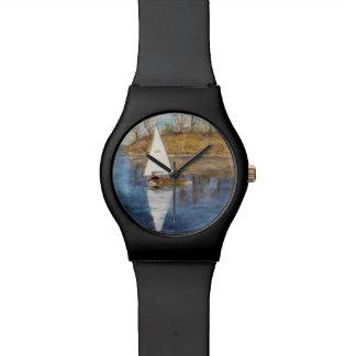腕時計および帆 腕時計