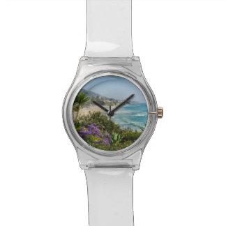 腕時計のビーチの美しい 腕時計