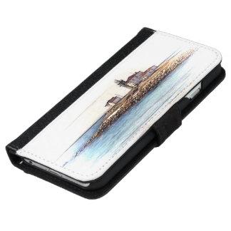 腕時計の丘の灯台ウォレットケース iPhone 6/6S ウォレットケース