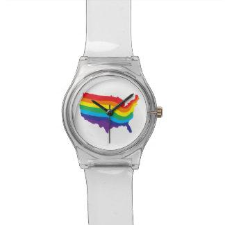腕時計の虹米国 腕時計
