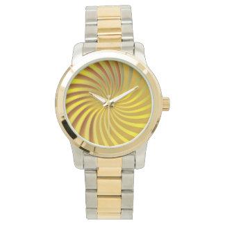 腕時計の螺線形渦 腕時計