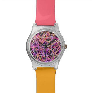 腕時計のInformelの芸術の抽象芸術 腕時計