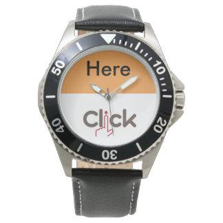 腕時計をここにクリック 腕時計