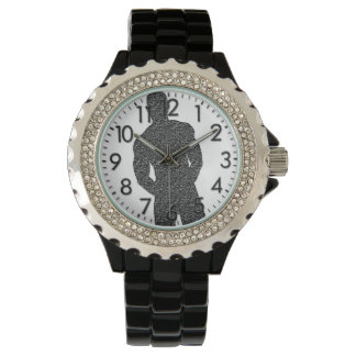 腕時計を提起している人 腕時計