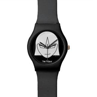 """""""腕時計を支配する中間の小さく魅力的な""""時間 腕時計"""