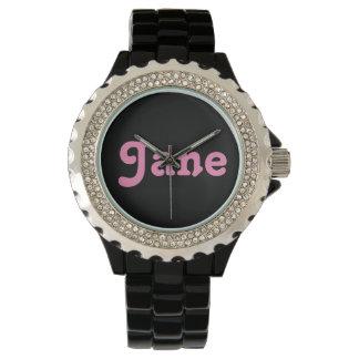 腕時計ジェーン 腕時計