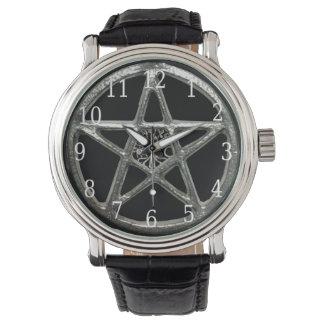 腕時計星形五角形の生命の樹 腕時計