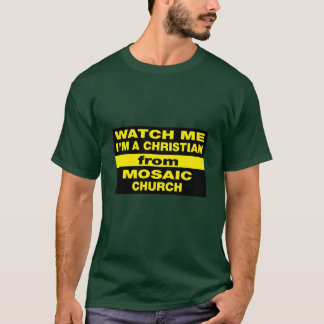 腕時計私モザイク Tシャツ