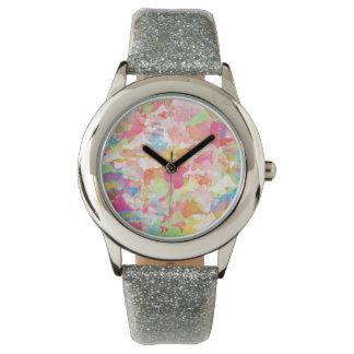腕時計色の水彩画 腕時計