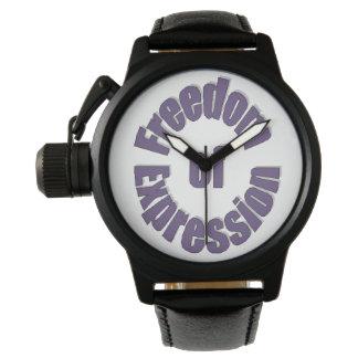 腕時計表現の自由 腕時計