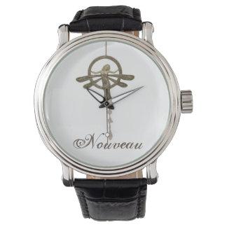 腕時計: アールヌーボー 腕時計