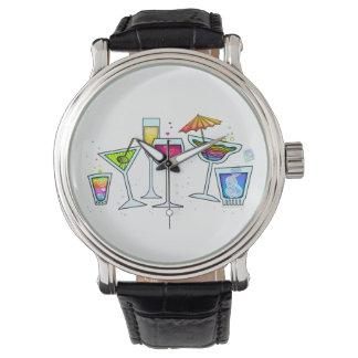 腕時計-カクテル! パーティーガラス 腕時計