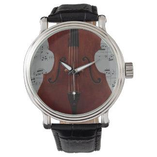 腕時計-コントラバス-あなたの色を選んで下さい 腕時計