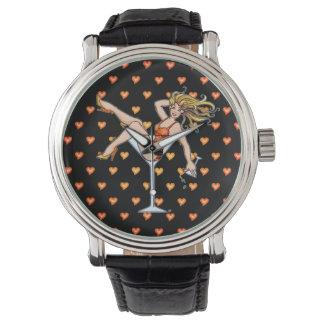 腕時計-マルティーニガラス2の女の子 腕時計