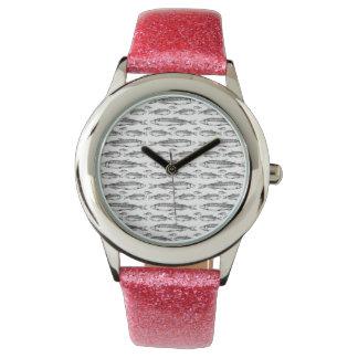 腕時計W/FISH 腕時計
