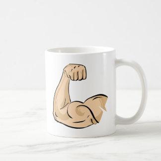 腕筋肉 コーヒーマグカップ