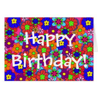 腰回りが大きなレトロによっては誕生日が開花します カード
