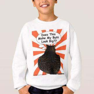 腰回りが大きな子猫はこれをさせます私のお尻の一見を大きくしますか。か。 スウェットシャツ