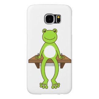 【腰掛けカエル】Sitting frog Samsung Galaxy S6 ケース