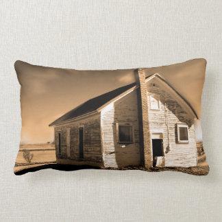 腰神経の枕ヴィンテージの古い建物のデザイン ランバークッション