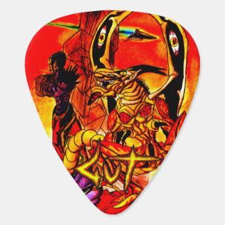 腸のBazajidの逃亡者のギターピック ギターピック
