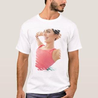 腹筋運動 Tシャツ